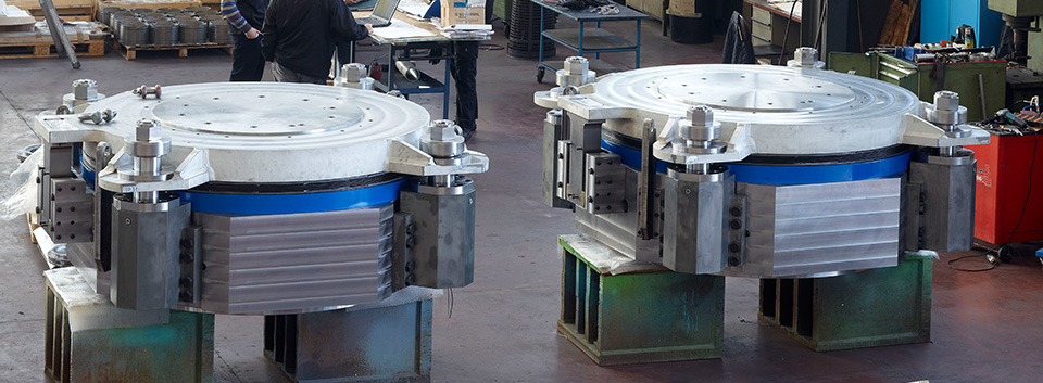 Machinery and equipment for rolling and metals industry